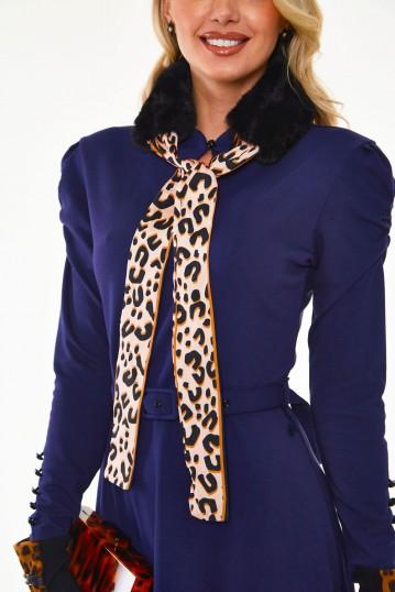 Annie Faux Fur Collar in Black