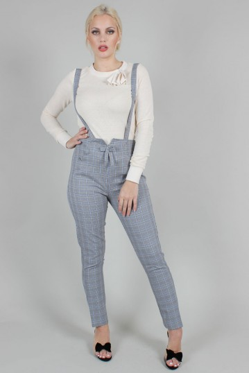 Barbara Cigarette Trousers With Suspenders
