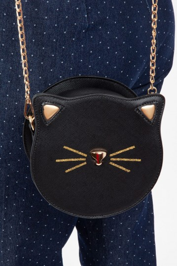 Katy Cat Circle Chain Bag