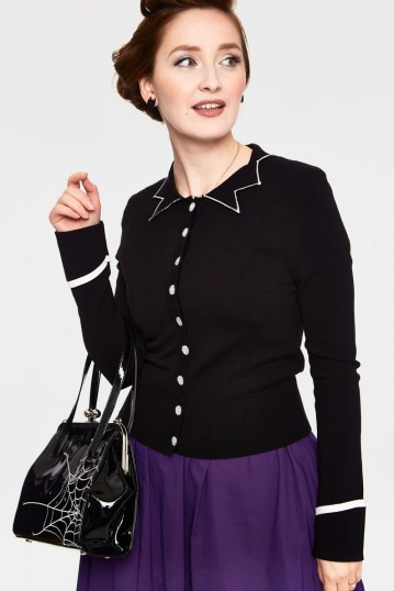 Winifred Pointy Collar Cardigan