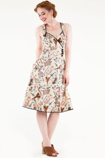 Claudine Parisian Summer Dress