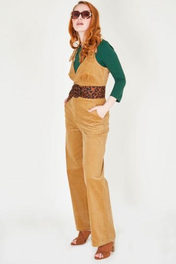 Corinne Corduroy Dungaree-style Jumpsuit