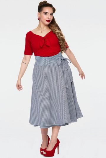 Curve Elizabeth Curved Waist Bow Skirt