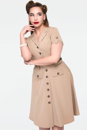 Curve Ida Safari belted dress