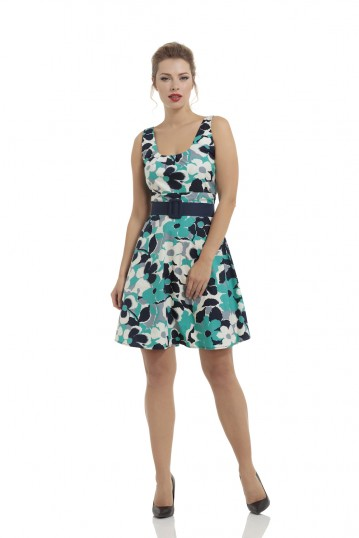 Arisa Belted Summer Dress