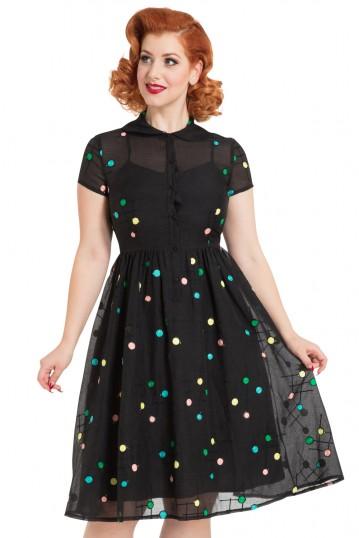 Sallie 50s Flared Dress