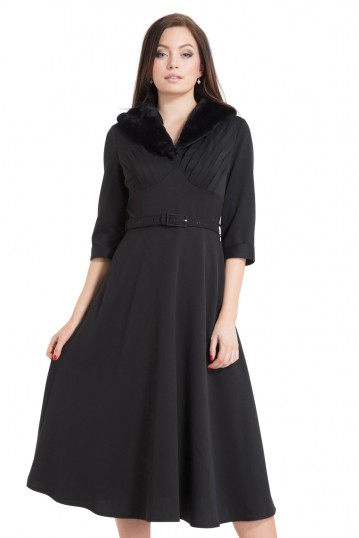 Lia Black Dress