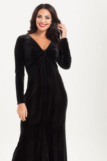 Morticia Black Gown