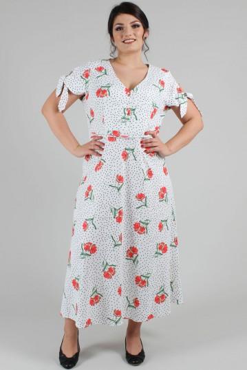 Curve Lilian V-neck Dress