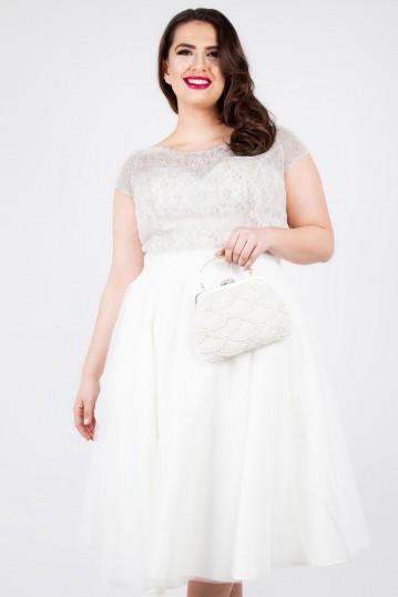 Curve Verity Multi Lace Bridal Gown