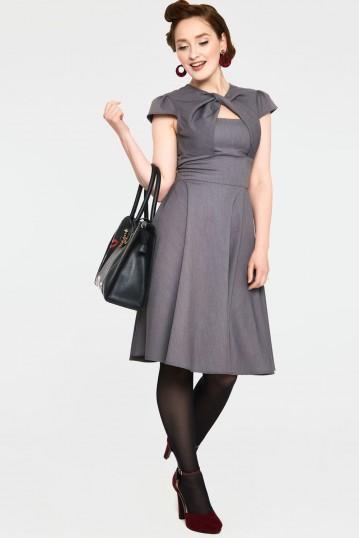 Geneva A-line Cut-out Dress