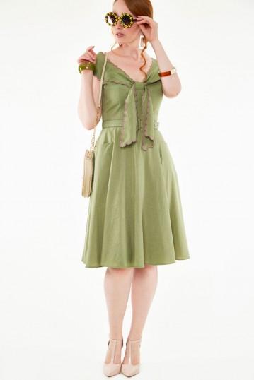 Scarlina Scallop Dress