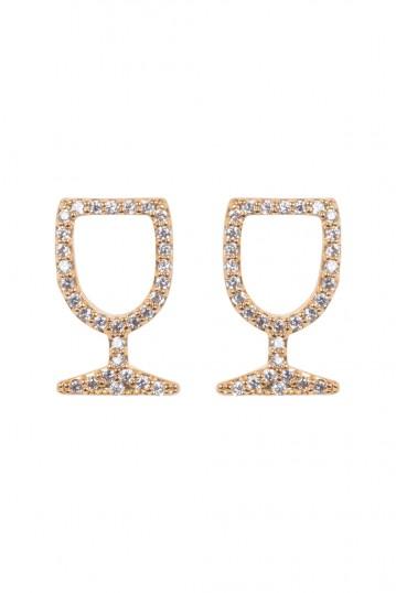 Wine Glass Studs