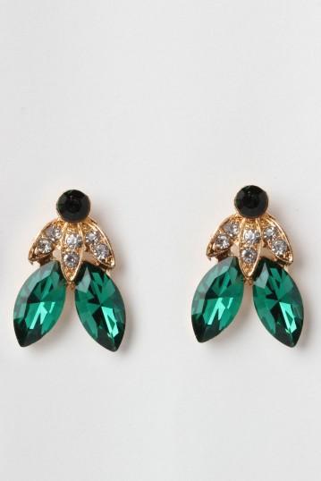 Liz Elegant Jewel Earrings