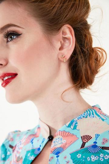 Elegant Lipstick Studs
