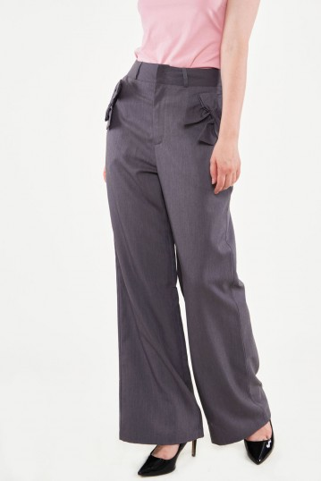 Gail Straight-leg Wide Trousers