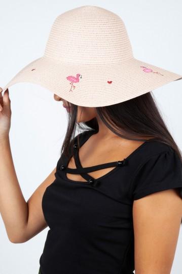Flamingo Sun Hat Pink