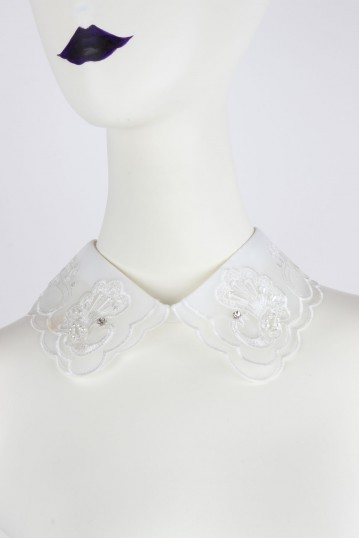 Lace Doily Collar