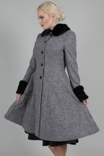 Curve Louisa May Stone Long Dress Coat