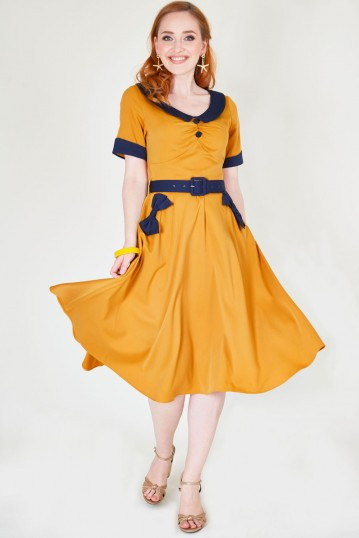 Maryann Dress with Short Sleeves