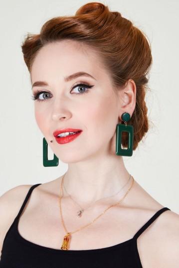 Oversized Geometric Earrings