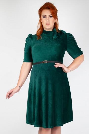 Vixen Curve Penelope Velvet Dress