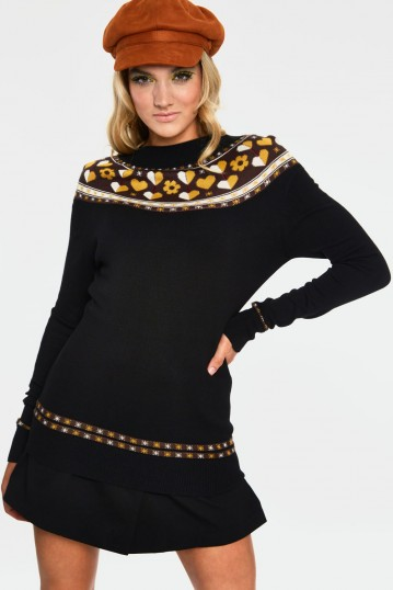 Farrow Heart And Flower Graphic Sweater