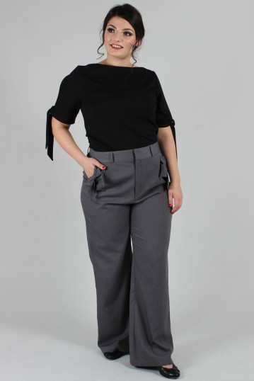Curve Gail Straight-leg Wide Trousers