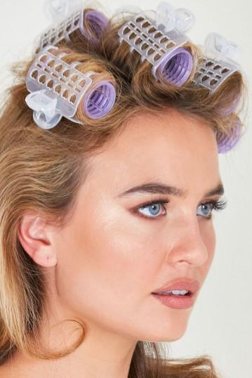 Voodoo Vixen Victory Hair Roller Set in Perfect Purple