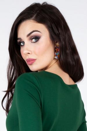 Alma Marble Earrings