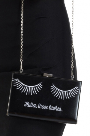 Flutter Those Lashes Clutch