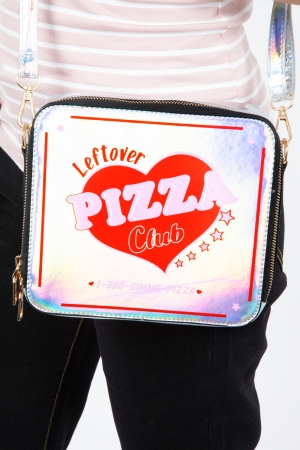Leftover Pizza Club Cross Body Bag