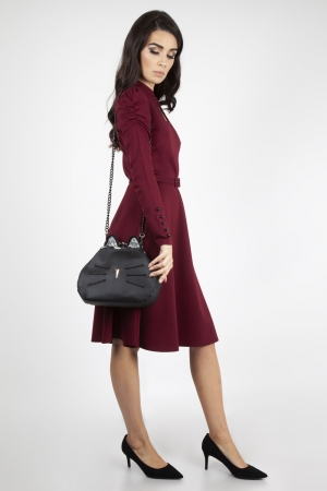 Pheobie Black Kitty Bag