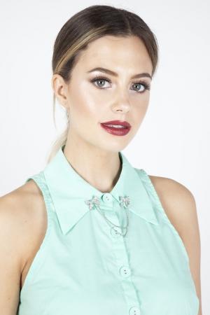 Bow Charm Collar Tips