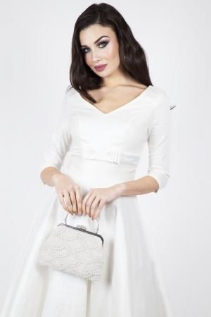 Dorothy Bridal Flared Dress
