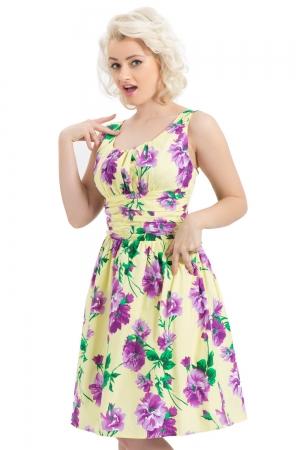 Finley Yellow Floral Dress