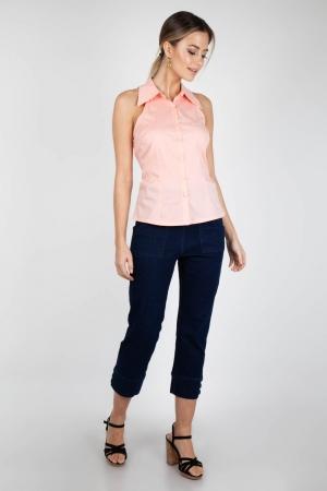 Jasmine Pink Sleeveless Shirt