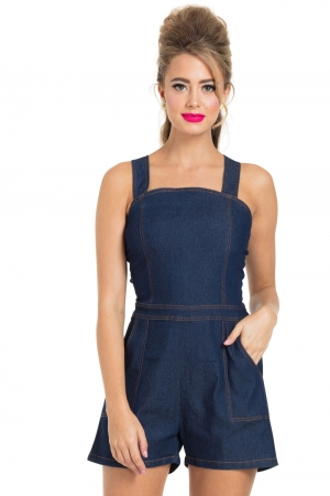 Jenni Denim Playsuit