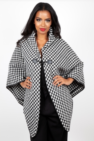 Houndstooth Cape