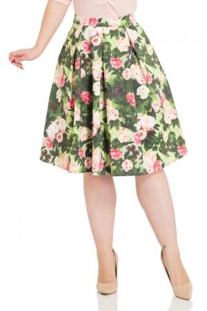 Prim Floral Skirt