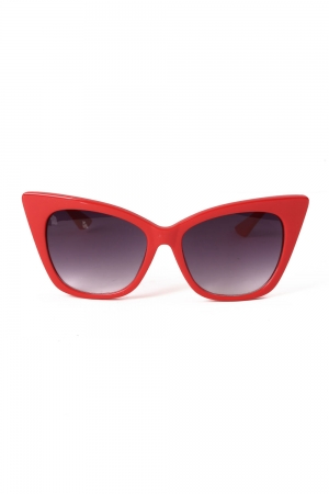 Jennifer Retro Red Shades