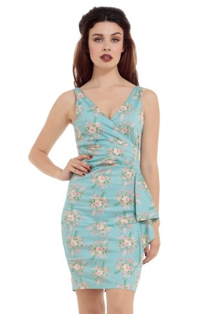 Tilda Floral Pencil Dress
