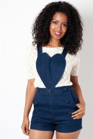 Rosie Removable Heart Playsuit