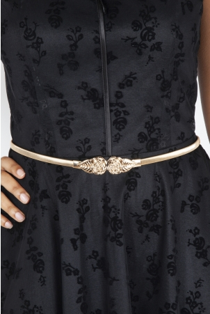 Rose Leaf Adjustable Waist Belt