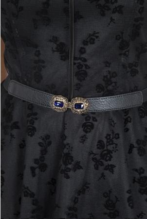 Elegant Jewel Elasticated Waist Belt