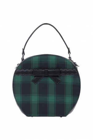 Ivy Plaid Hat Bag