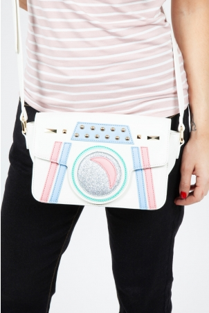 Patsy Paparazzi Bag in White