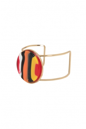 Retro Bangle Red