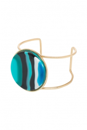 Retro Bangle Blue