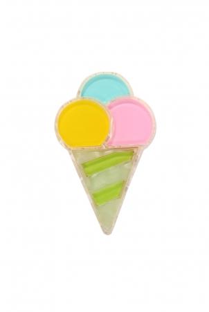 Ice Cream Treat Resin Brooch